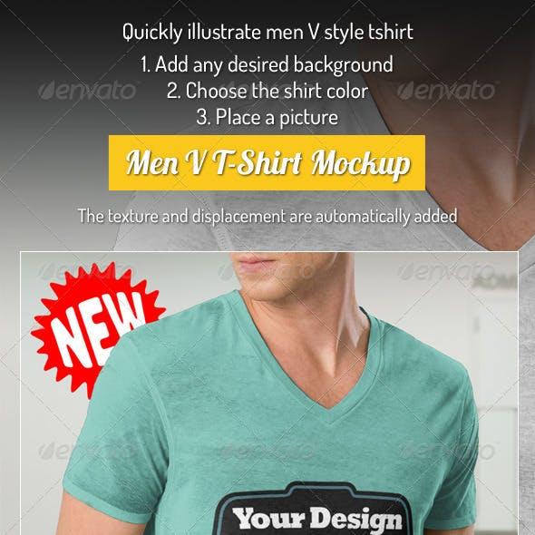 Professional V T-Shirt Men
