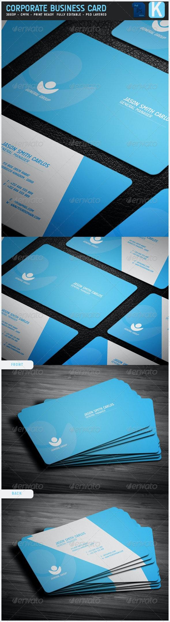Corporate Business Card 3 - Corporate Business Cards