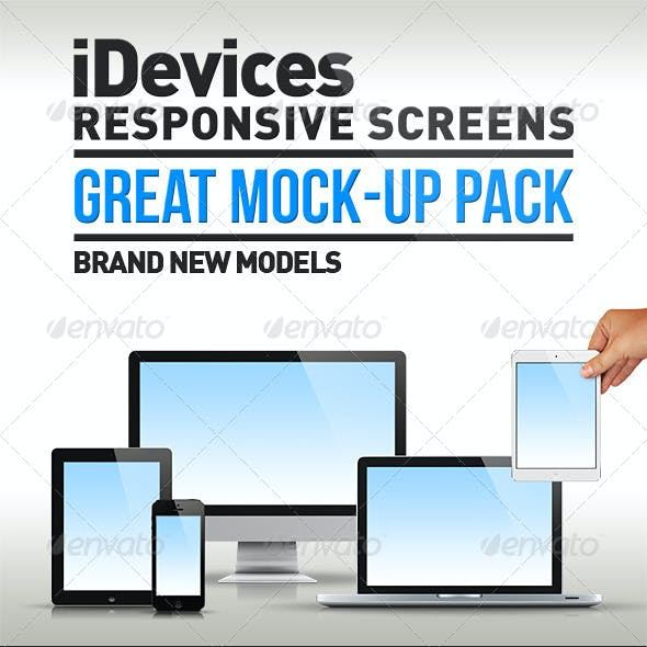 iDevices Responsive Mock-Up