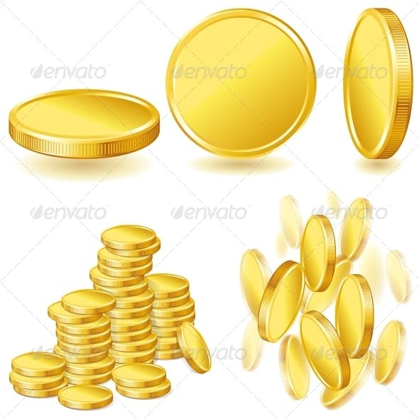 Collection of Gold Coins