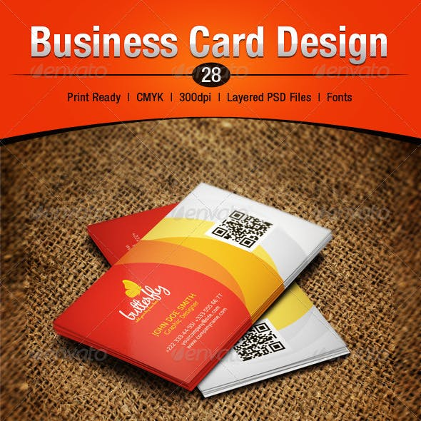 Business Card Design 28