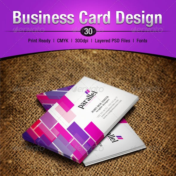 Business Card Design 30