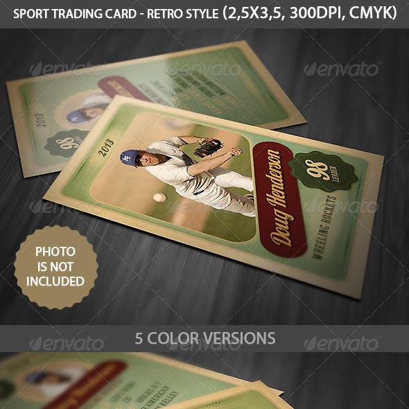 Sport Trading Card