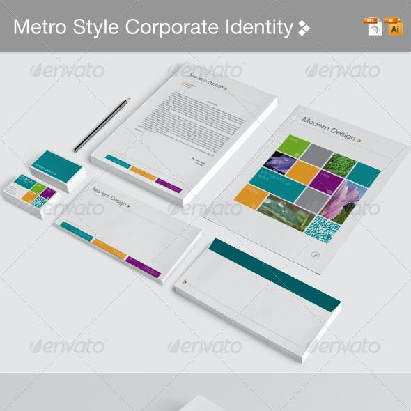 Metro Style Corporate Identity