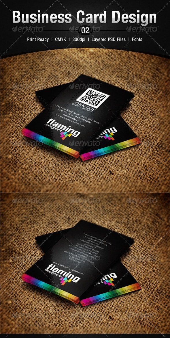Business Card Design 2 - Corporate Business Cards