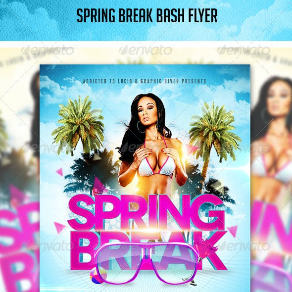 Spring Break Bash Flyer