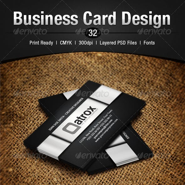 Business Card Design 32