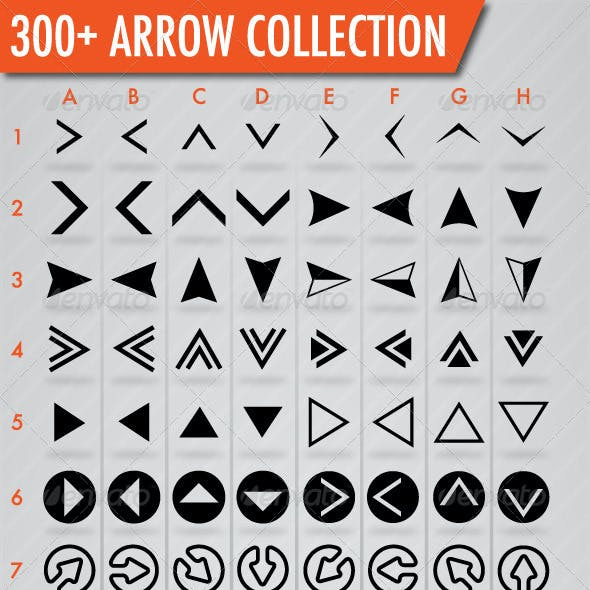 300+ Arrows Collection
