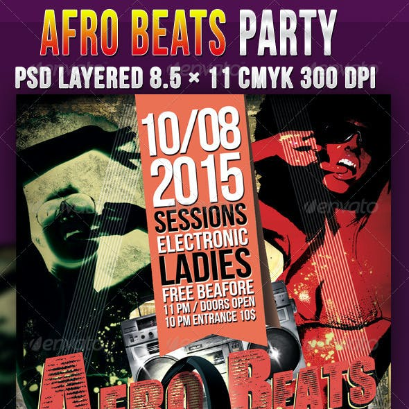 Afro Beats Party