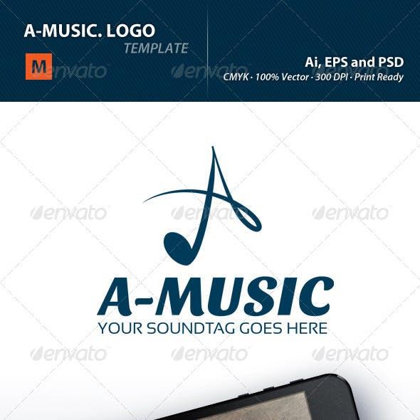A-Music Logo