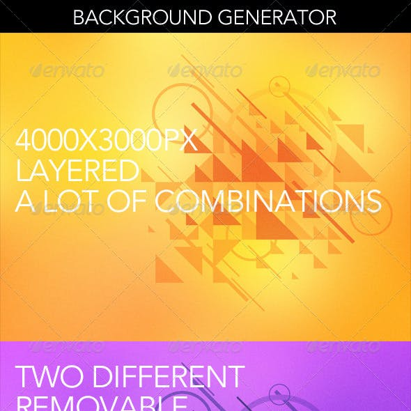 Abstract Background Graphics Generator