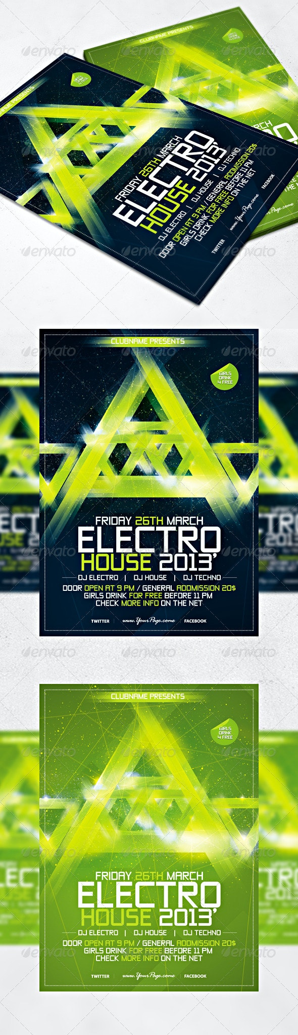 Electro Flyer - Concerts Events