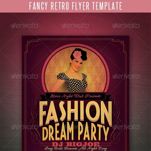Fancy Retro Flyer Template