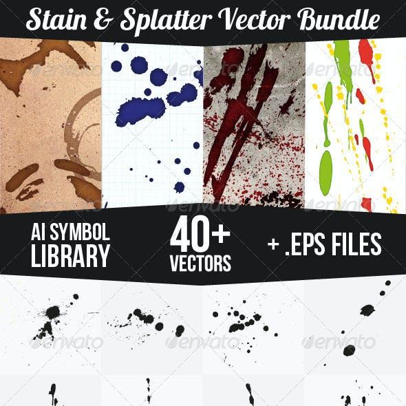 Stain and Splatter Vectors