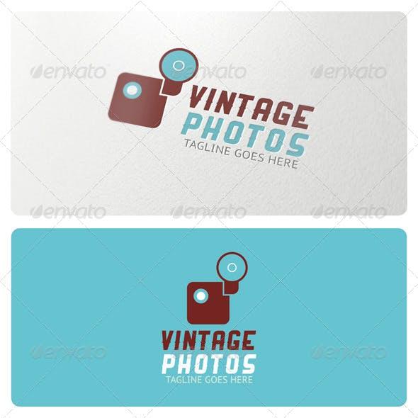 Vintage Photos Logo Template