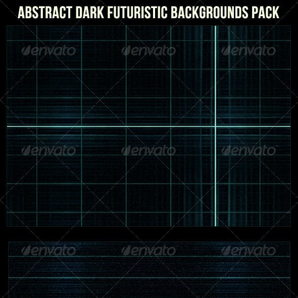 Abstract Futuristic Dark Backgrounds Pack