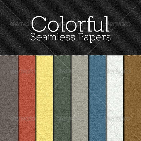 Colorful Seamless Papers