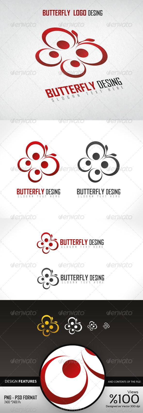Butterfly Logo Design - Logo Templates