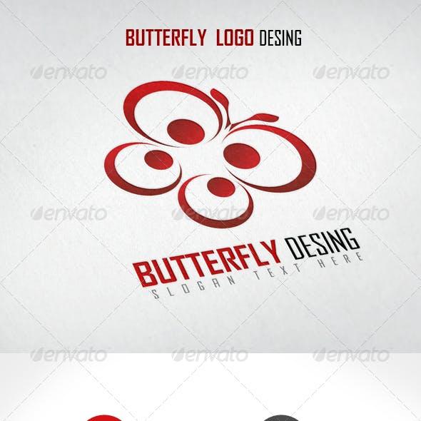 Butterfly Logo Design
