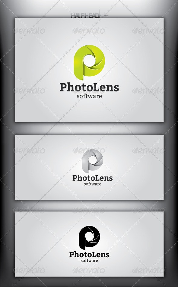 PhotoLens Logo Template - Letters Logo Templates