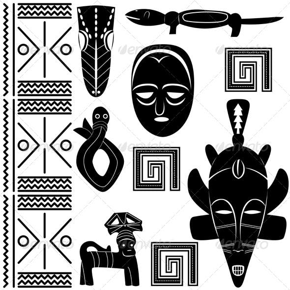 Ancient African Pattern