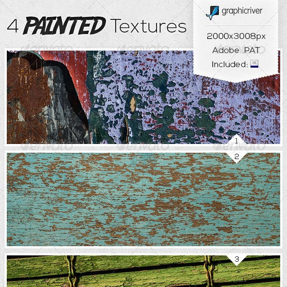 4 Painted Textures
