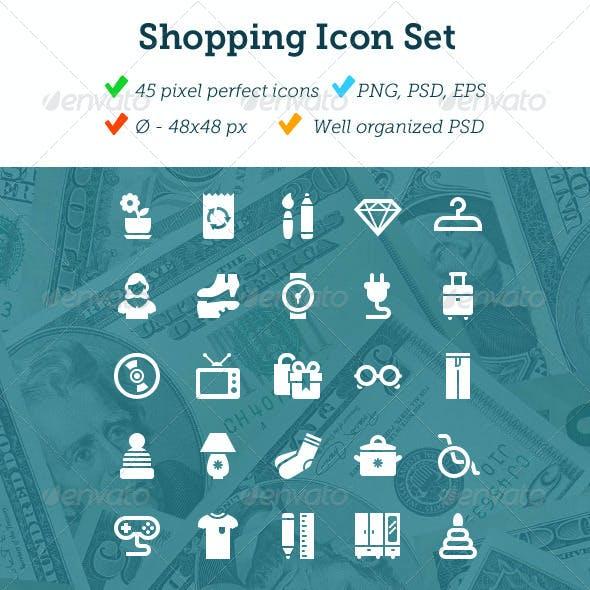 Shopping Icon Set (part 2)