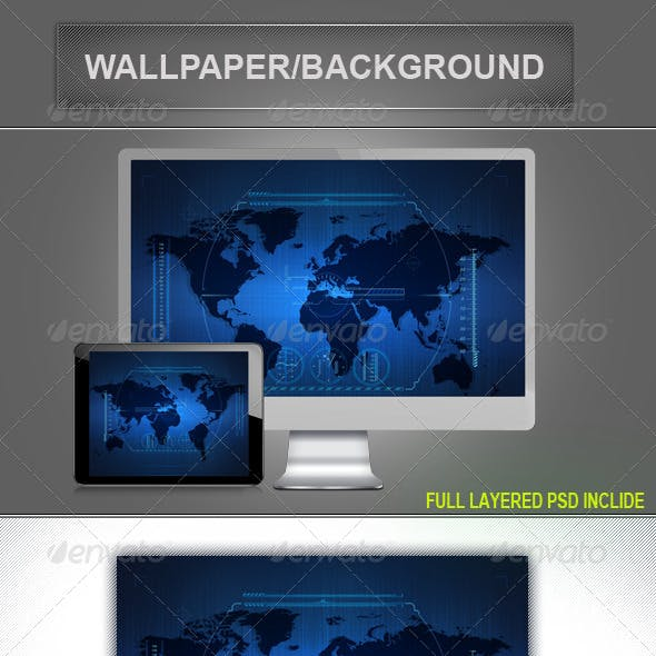 Hi- Tech Background