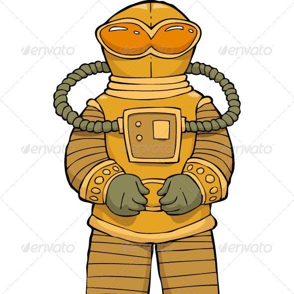 Alien Astronaut