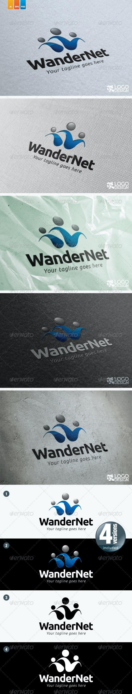 WanderNet - Humans Logo Templates