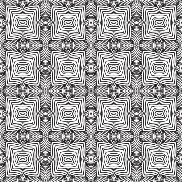 Geometric Sixties Wallpaper Design - Patterns Decorative