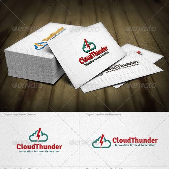 Cloud Thunder Logo