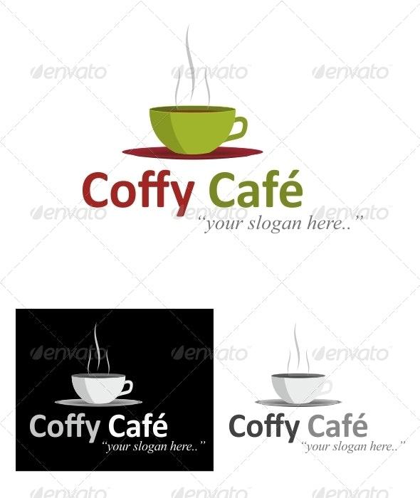 Coffee Cafe Logo - Food Logo Templates