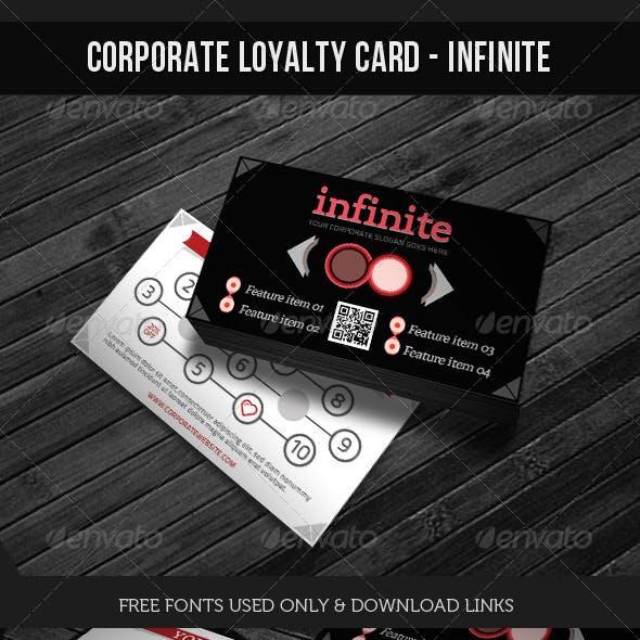 Corporate Loyalty Card - Infinite