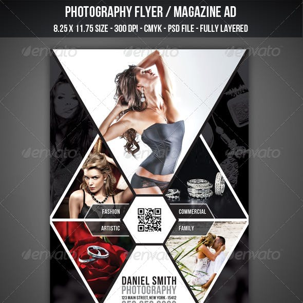 Photography Flyer / Magazine AD