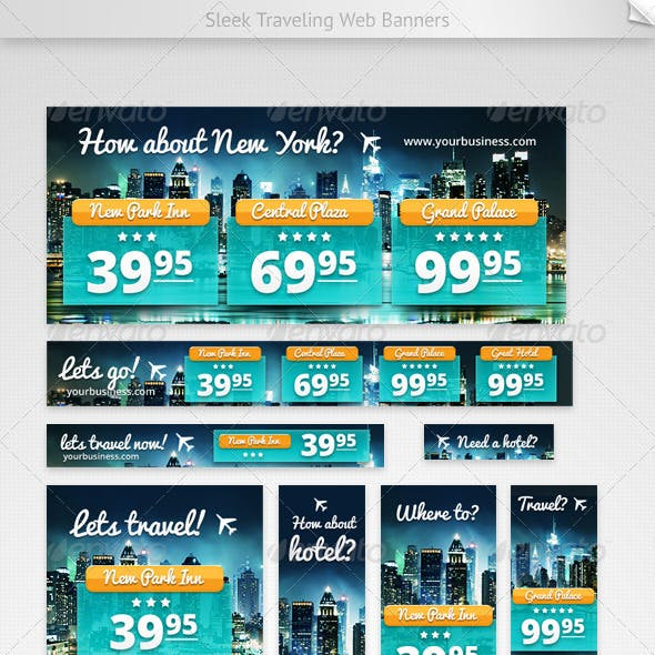 Hotel Web Banners