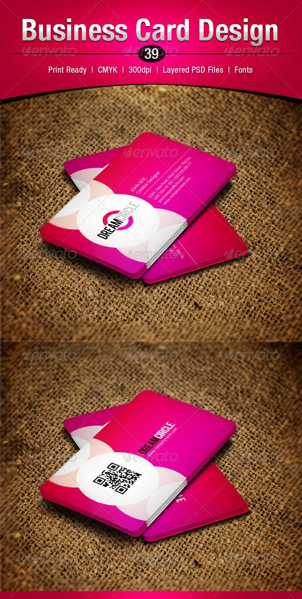 Business Card Design 39 - Business Cards Print Templates