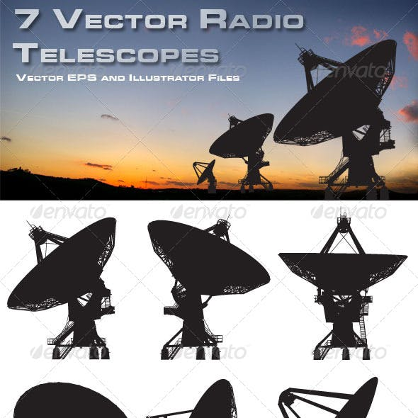 7 Vector Radio Telescopes