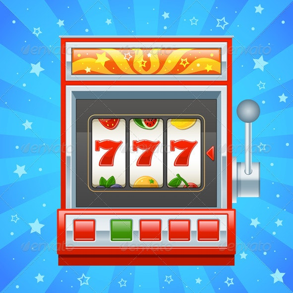 Red Slot Machine - Miscellaneous Vectors