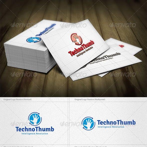 Techno Thumb Logo