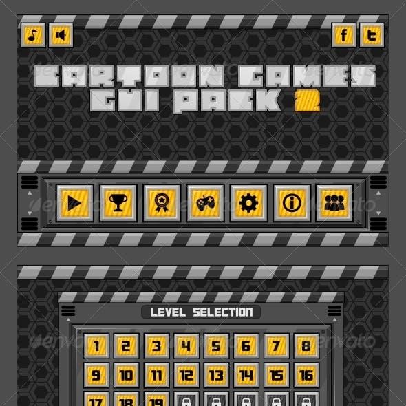 Cartoon Games GUI Pack 2