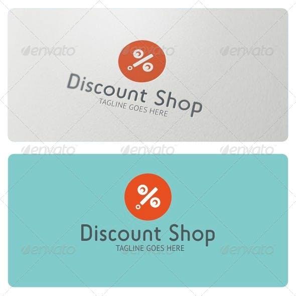 Discount Shop Logo Template