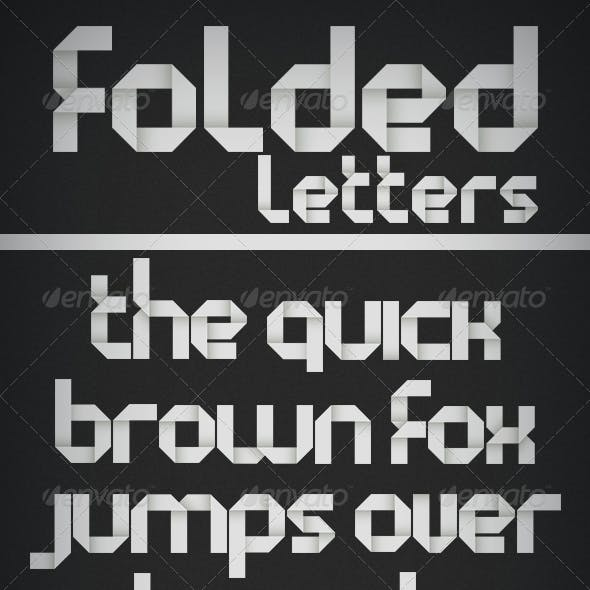 Folded Letters