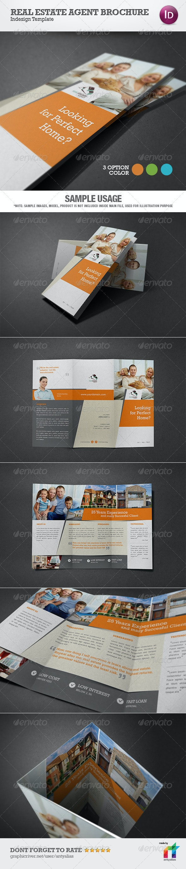 Real Estate Agent Brochure Template - Corporate Brochures
