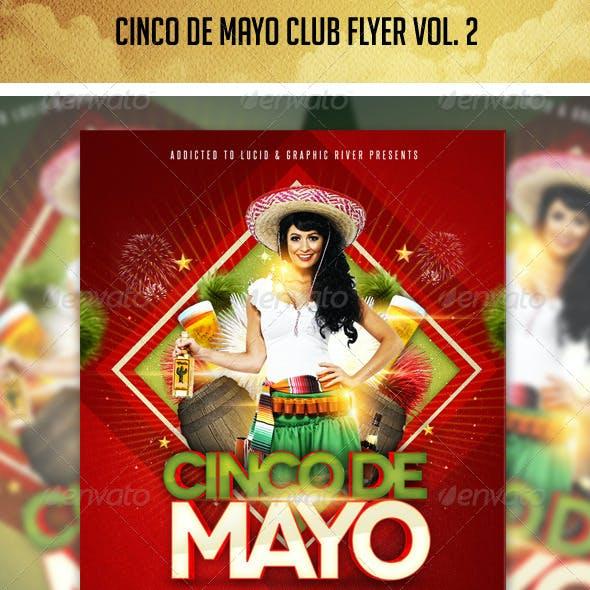Cinco De Mayo Flyer vol. 2