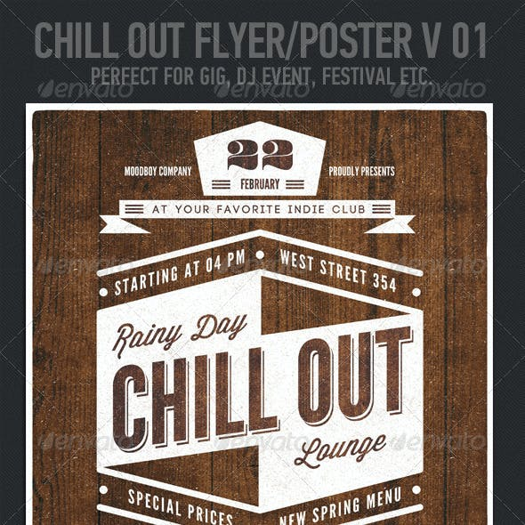 Chill Out Flyer/Poster V. 01