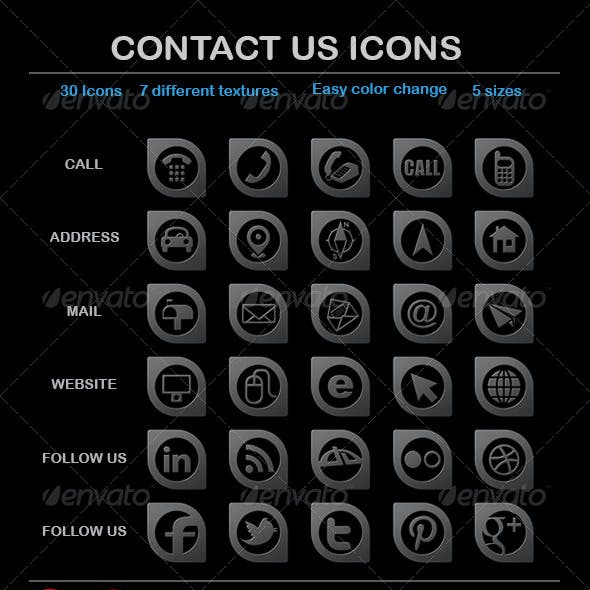 """Contact Us"" Icons"
