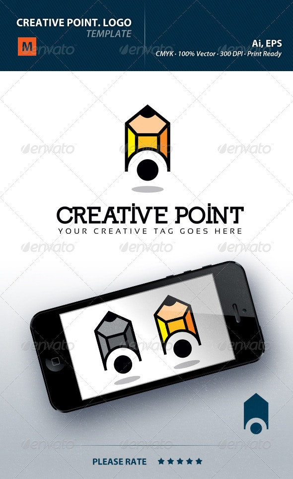 Creative Point Logo - Objects Logo Templates