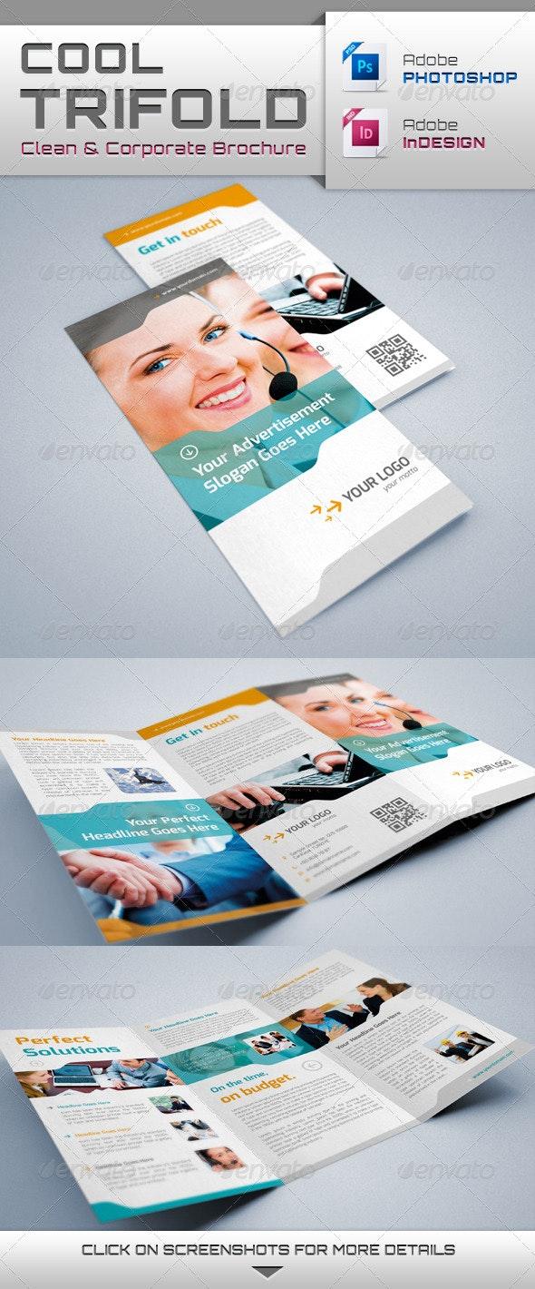 Cool Trifold Brochure - Brochures Print Templates