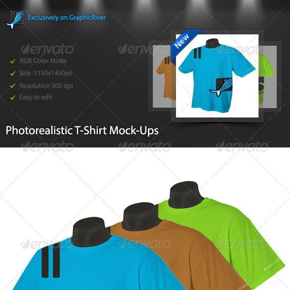 Photorealistic T-Shirt Mock-Ups